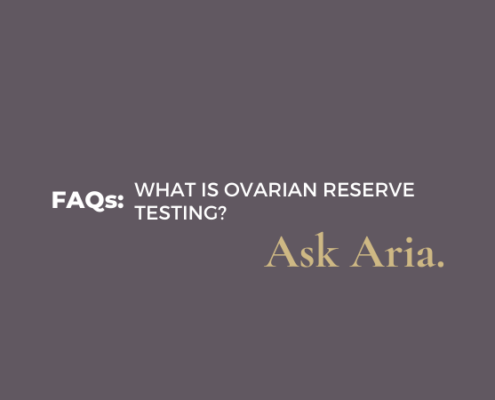 What is ovarian reserve testing?